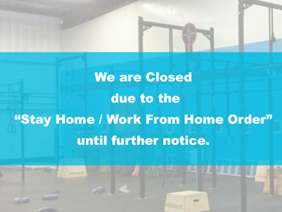"We are Closed  due to the  ""Stay Home / Work From Home Order""  until further notice."